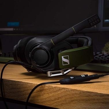 Sennheiser Sennheiser GSP 550 Siyah Dolby 7.1 Surround Ses Özellikli Oyuncu Kulaklığı Siyah